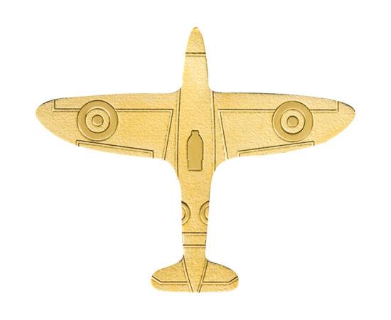 // 1 dollár, 999,9-es arany, Palau, 2020 // - Új egzotikus kibocsátás, mely valószínűleg újra meg fogja dobogtatni a különleges formájú érmék kedvelőinek szívét. Az értékes színarany érme egy repülőgépet formáz. Az érme a legújabb smartminting technológiá