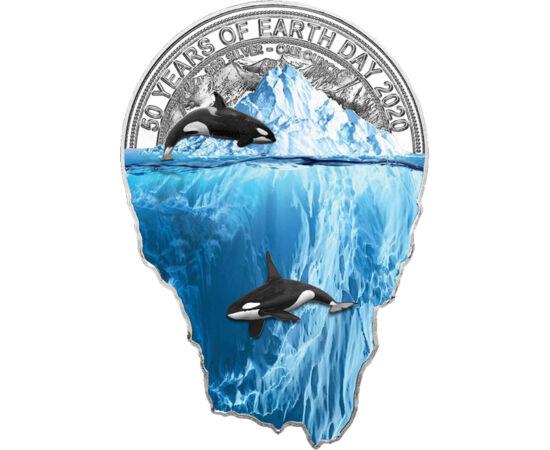 // 2000 frank, 999-es ezüst, Kamerun, 2020 // - Az elmúlt évek során az egyik legkedveltebb témává vált a nemzetközi pénzverdék és a gyűjtők körében egyaránt a bolygónk élővilágának megőrzése, a környezetvédelem. Ma már minden felelősen gondolkodó ember i
