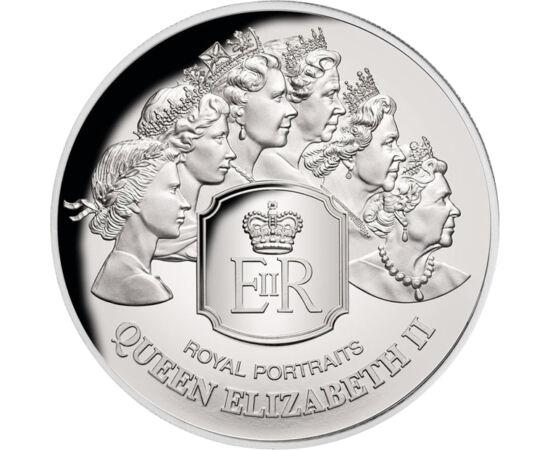 // 5 dollár, 999-es ezüst, Tokelau, 2020 // - Az érméken megjelenő uralkodói portrék tanulmányozása a numizmatika érdekes és izgalmas kihívása. Épp ezért olyan izgalmas ez a tokelau kibocsátásában megjelent ezüst emlékpénz, mely II. Erzsébet érméken megje