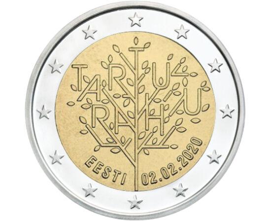 2 euró, Tartu békeszerződés, 2020 Észtország