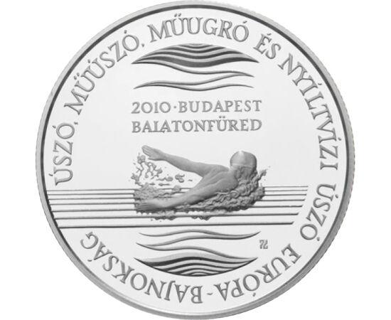 5000 Ft, Úszó EB, ezüst, vf, 2010 Magyar Köztársaság