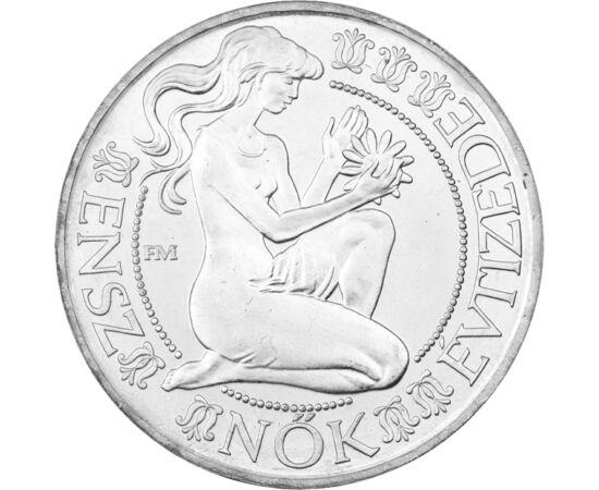 500 Ft, Nők évtizede, ezüst, vf. 1984 Magyar Népköztársaság