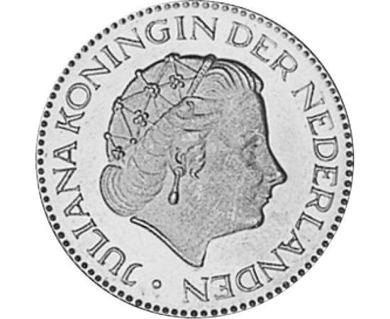 """// 1 gulden, Hollandia, 1967-1980 // - """"Isten hozott benneteket Hollandiába!"""" Rádiószózatában e magyarul elmondott mondattal köszöntötte a Hollandia által befogadott 1956-os magyar menekülteket Julianna holland királynő. Érméje minden magyar gyűjtőt emlék"""