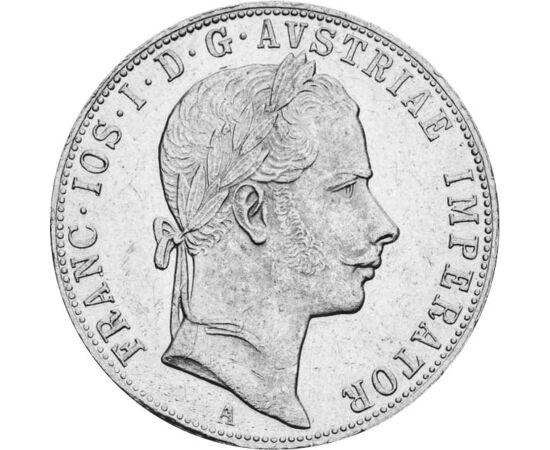 1 florin, Ferenc J.1857-72 vf,fiatalk Habsburg Birodalom