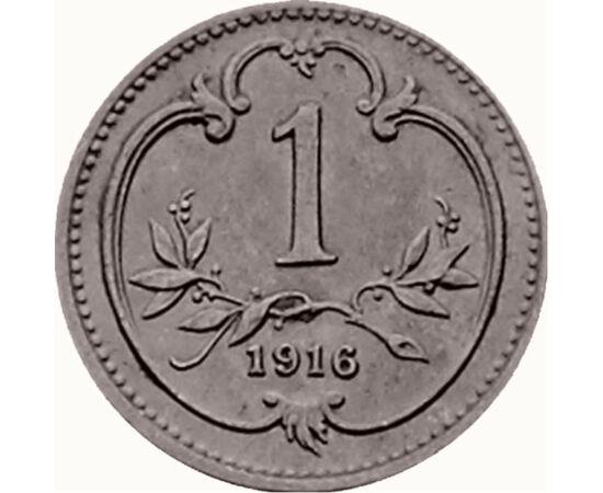 // 1 heller, Osztrák-Magyar Monarchia, 1892-1916 // - 190 éve született Ferenc József osztrák császár és magyar király. A Kiegyezést követően az uralkodása alatt létrejött monarchia Magyarországnak gazdasági fellendülést hozott. Életét azonban családi tra