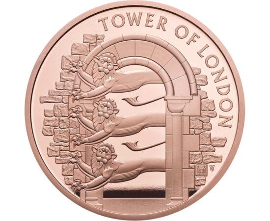 // 5 font, Nagy-Britannia, 2020 // - A londoni Towert bemutató érmesorozat legújabb kibocsátása a Tower állatkertjéről emlékezik meg, melyet a XIII. században létesítettek. Az állatkert 1804-től volt látogatható a nagyközönség számára. 1835-ben gazdasági