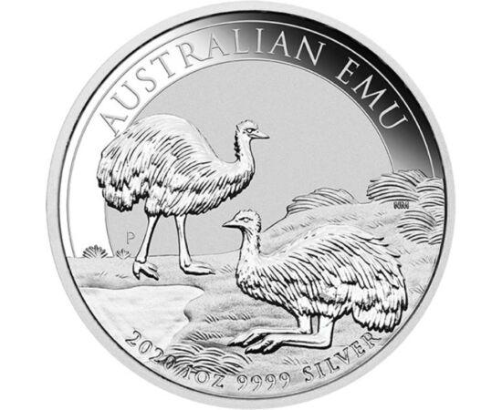 // 1 dollár, 999,9-es ezüst, Ausztrália, 2020 // - Az ausztrál pénzverő évről-évre megjelenteti népszerű befektetői érméit, melyek az ország egyedülálló állatvilágára hívják fel a világ figyelmét. A minden évben változó motívummal kibocsátott 1 unciás érm