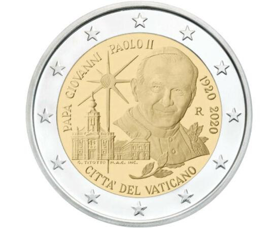 // 2 euró, Vatikán, 2020 // - Vatikán euróérméi igazi ínyencségnek számítanak a gyűjtők körében, mivel a törpeállam jubileumi 2 euróinak kibocsátási darabszáma messze elmarad a megszokottól. Ezért euró emlékpénzei igen értékesek és kuriózumnak számítanak.