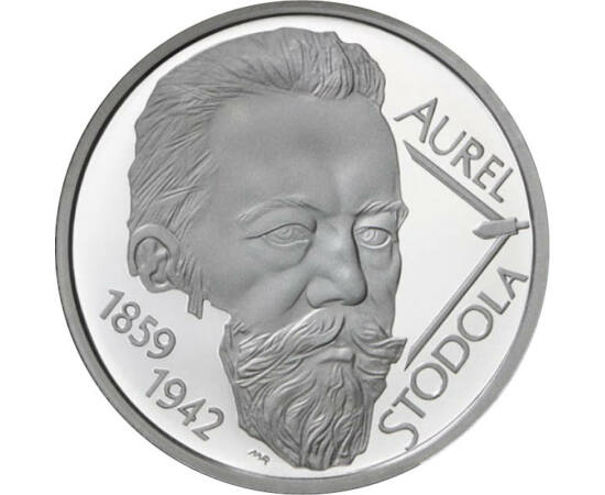 10 euró, Stodola Aurél, ezüst, 2009 Szlovákia