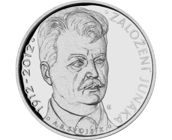 200 korona, Junáka, pp, ezüst, 2012 Csehország