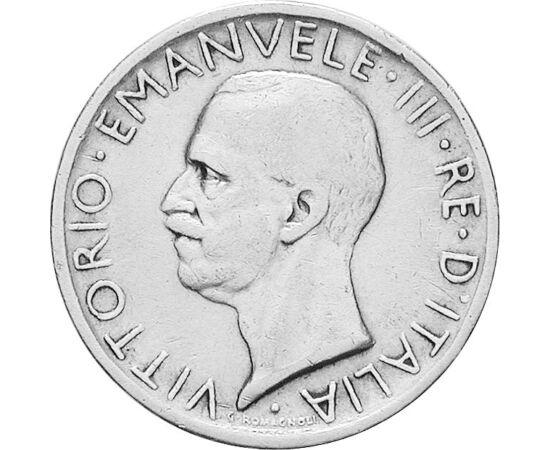 // 5 líra, 835-ös ezüst, Olaszország, 1926-1935 // - III. Viktor Emánuelt szokás az utolsó olasz királynak nevezni. Mikor 1946 májusában lemondott a trónról, fia, II. Umberto ugyan formálisan az utódja lett, de uralkodni már nem tudott, hisz egy hónapon b