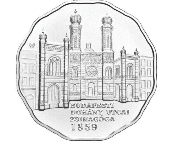 5000 Ft, Zsinagóga, ezüst, vf, 2009 Magyar Köztársaság