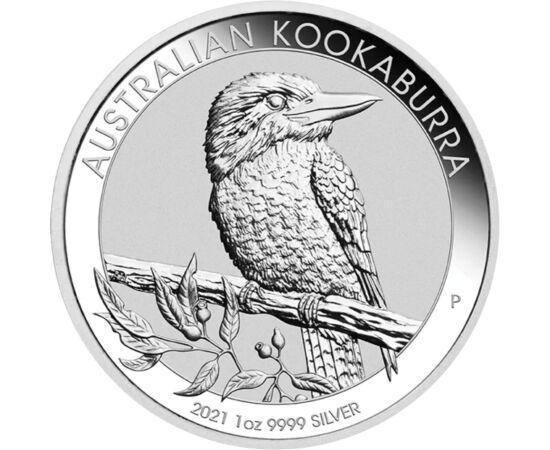 1 dollár,Kookaburra,Ag,1 unc,2021 Ausztrália
