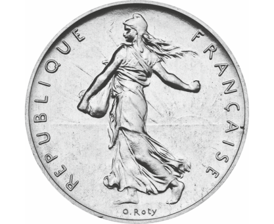1 frank, Magvető lány, 1960-2001 Franciaország