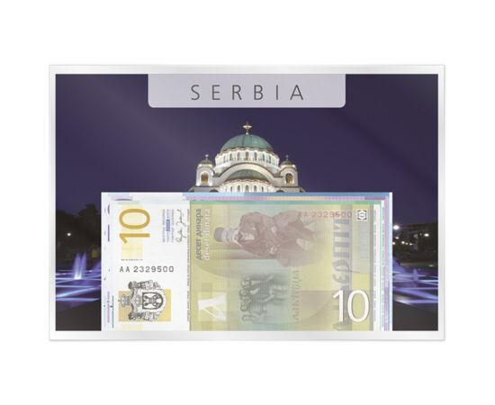 10, 20, 50, 100 dínár, 2005-2006 Szerbia