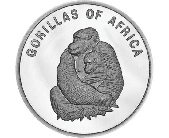 1000 schill. 2 gorilla, 2002-03 Uganda