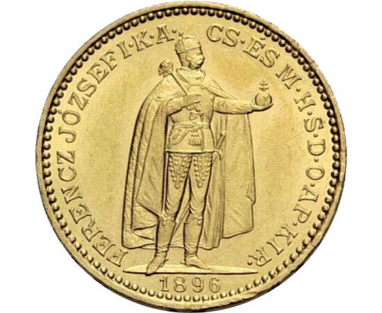 20 korona, arany, Ferenc J.,1892-1915 Osztrák–Magyar Monarchia