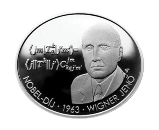 3000 Ft, Wigner Jenő, vf, ezüst, 2013 Magyarország