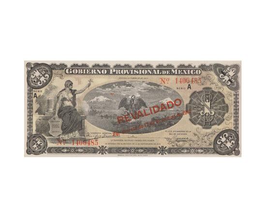 1 peso, 1914 Mexikó