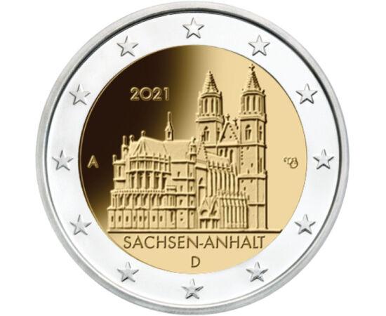 2 euró, Magdeburgi dóm, 2021 Németország