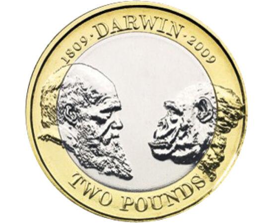 2 font, Darwin, 2009 Nagy-Britannia