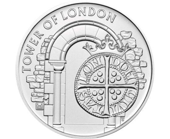 5 font, A Tower - pénzverő, 2020 Nagy-Britannia