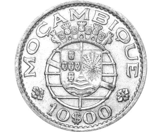 // 10 escudo, 720-as ezüst, Mozambik, 1952-1960 // - Mozambikot 1498-ban Vasco da Gama fedezte fel, majd 1752-től portugál gyarmat lett. Partvidékeit már a X. században arabok lakták, akik arannyal és rabszolgákkal kereskedtek. 1975-ben kivívta függetlens