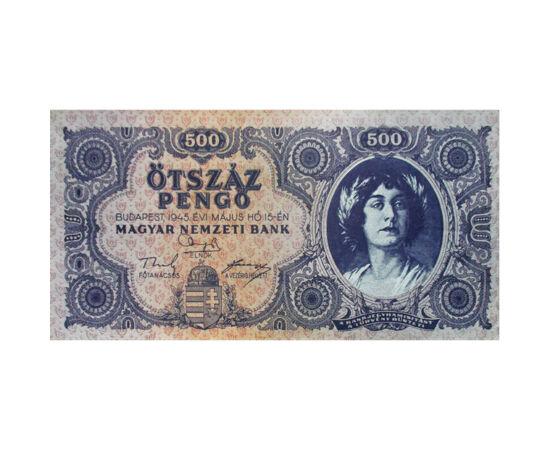500 pengő, 1945 Magyar Királyság