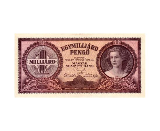 1 milliárd pengő, 1946 Magyar Királyság