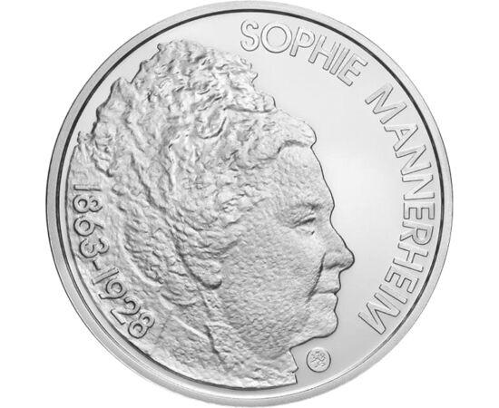 10 euró, Mannerheim, ezüst, 2013 Finnország