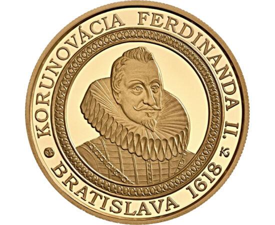 100 euró, II.Ferdinánd koronázásaAu Szlovákia