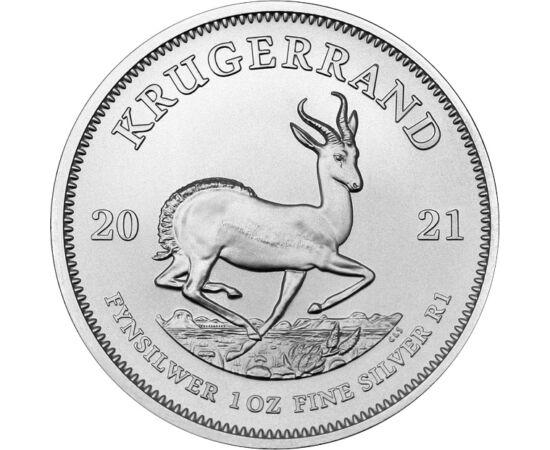 1 rand, Krugerrand, Ag,2021 Dél-afrikai Köztársaság