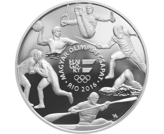 10000 forint,Olimpia Rio,Ag,2016 Magyarország