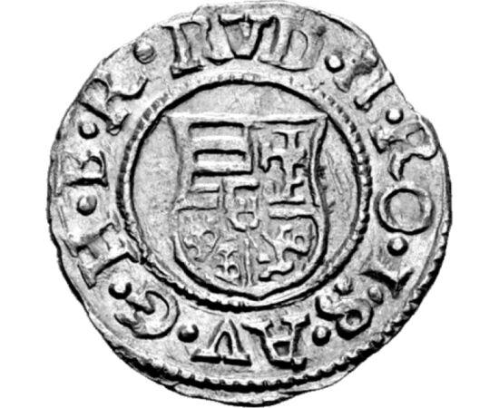 dénár, Rudolf, 1576-1608 ezüst Magyar Királyság