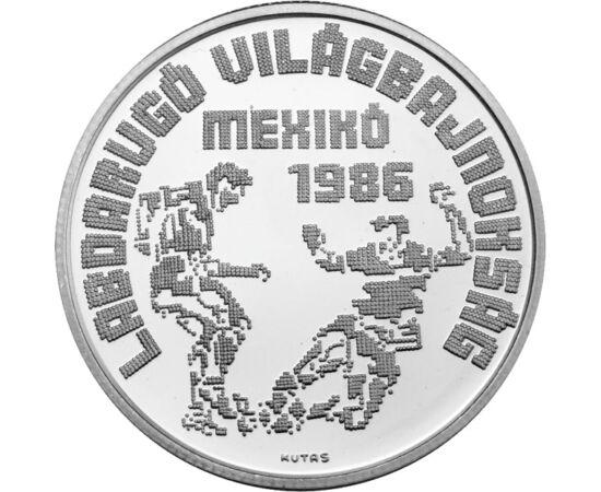 35 éve voltunk foci VB-n utoljára, 500 forint, ezüst, Magyar Népköztársaság, 1986