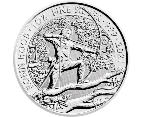 A tolvajok fejedelme, 2 font, ezüst, Nagy-Britannia, 2021