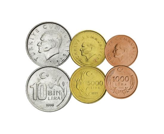 A törökök atyja, 1000, 5000, 10000, 25000, 50000 lira, Törökország, 1994-2000