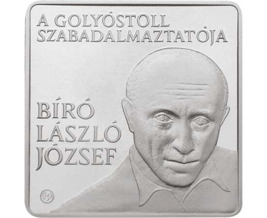 Akiről a golyóstollat elnevezték, 1000 forint, Magyar Köztársaság, 2010