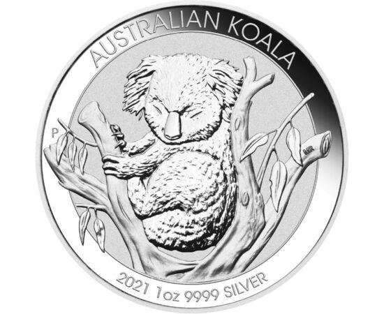 Álomkóros koala, 1 dollár, ezüst, Ausztrália, 2021