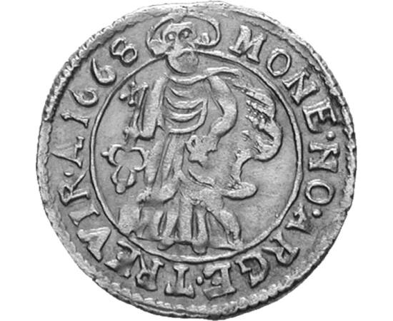 Császárválasztó város, albus, ezüst, Trier városa, 1648-1689