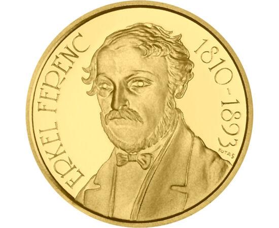 Erkel Ferenc, 10000 forint, arany, Magyar Köztársaság, 1993