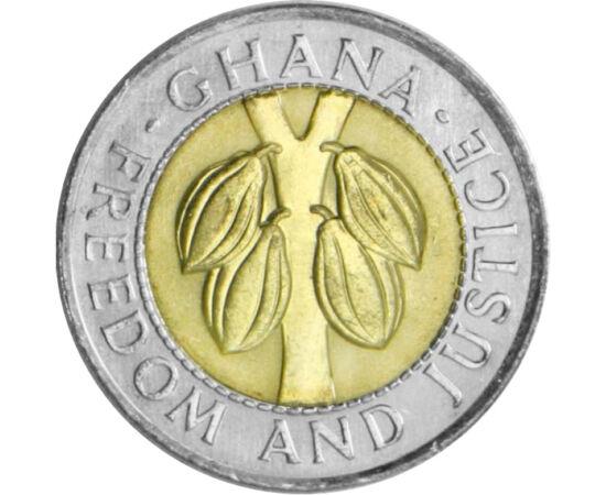 Ghána, a kakaó országa, 100 cedi, Ghána, 1991-1999