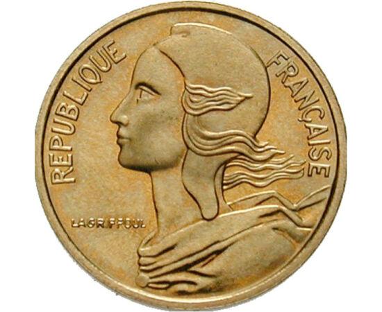 Marianne és a szabadság, 5 centime, Franciaország, 1966-2001