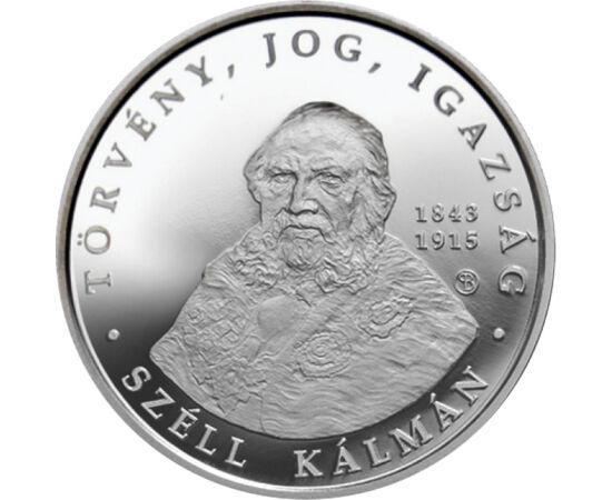 Miniszterelnök ezüstpénzen, 5000 forint, ezüst, Magyarország, 2015