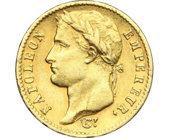 Napóleon aranya, 20 frank, arany, Franciaország, 1807-1815