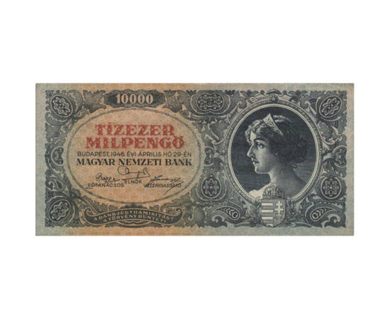 10 ezer milpengő, 1946, Magyar Királyság
