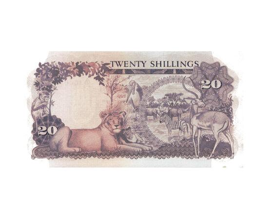 20 shilling, , 0, 0, Uganda, 1966