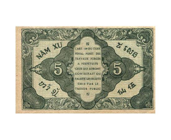 5 cent, , 0, 0, Francia Indokína, 1942