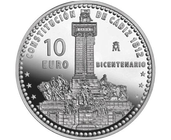 10 euró, Spanyol alkotmány, ez.2012, Spanyolország