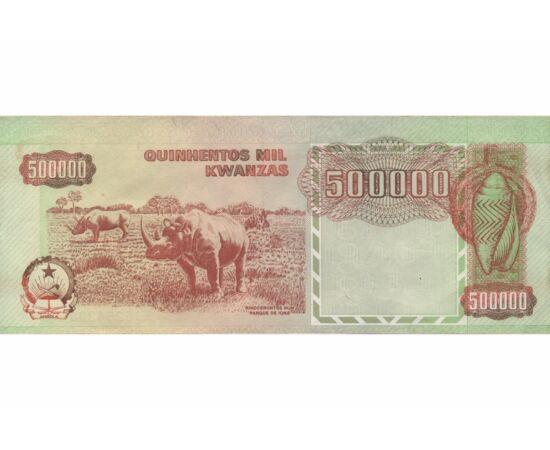 500000 kwanza, , bankjegy, 0, Angola, 1991